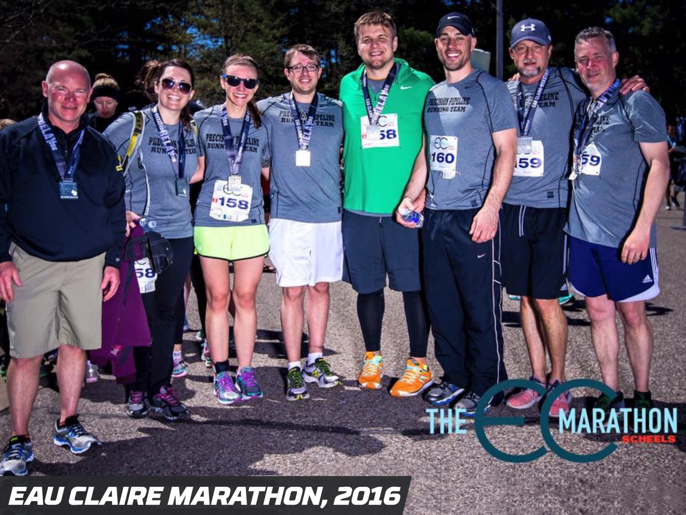 Precision Pipeline Community Involvement: Eau Claire Marathon 2016