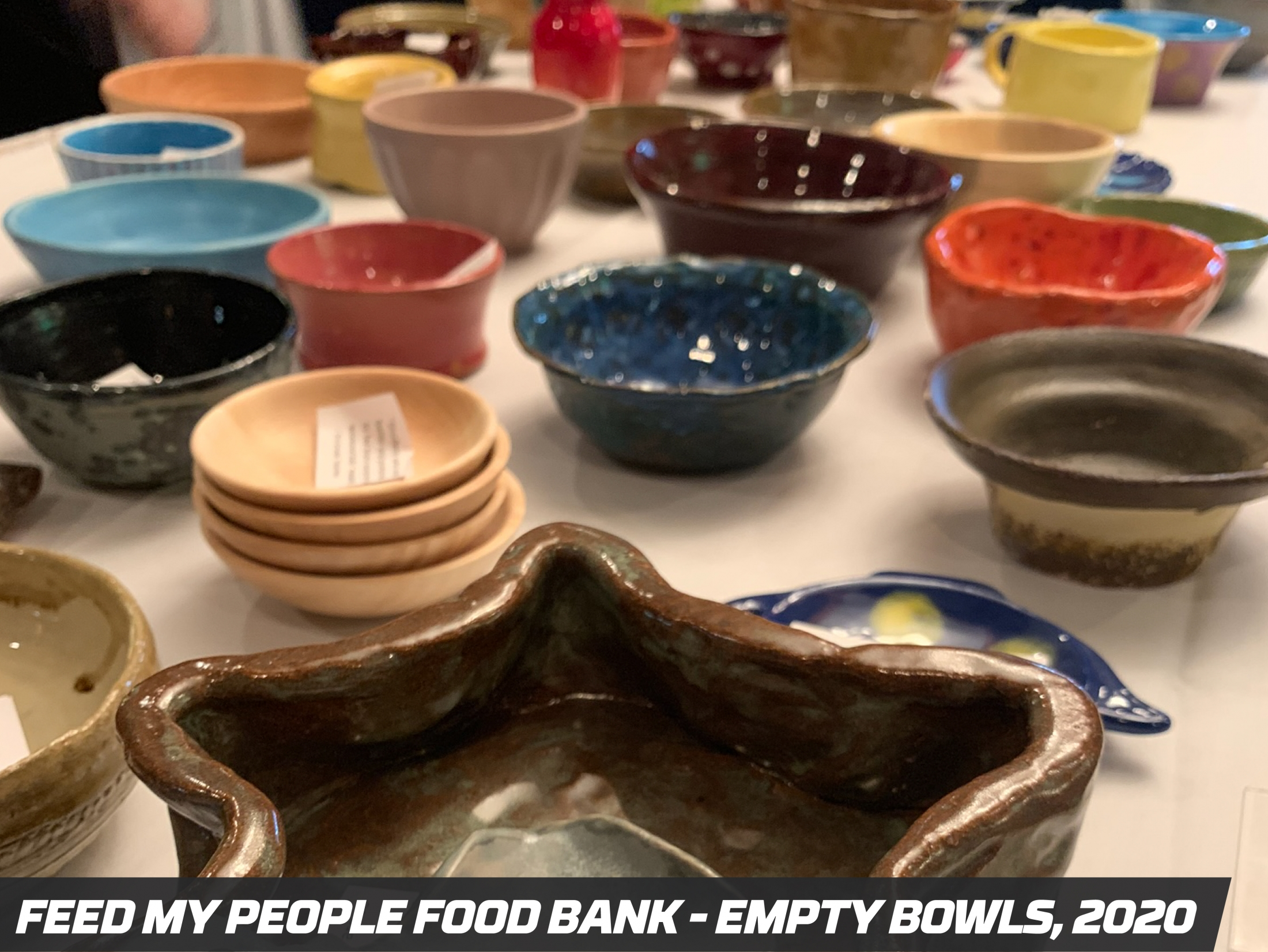 Precision Pipeline Community Involvement: Feed My People Food Bank - Empty Bowls 2020