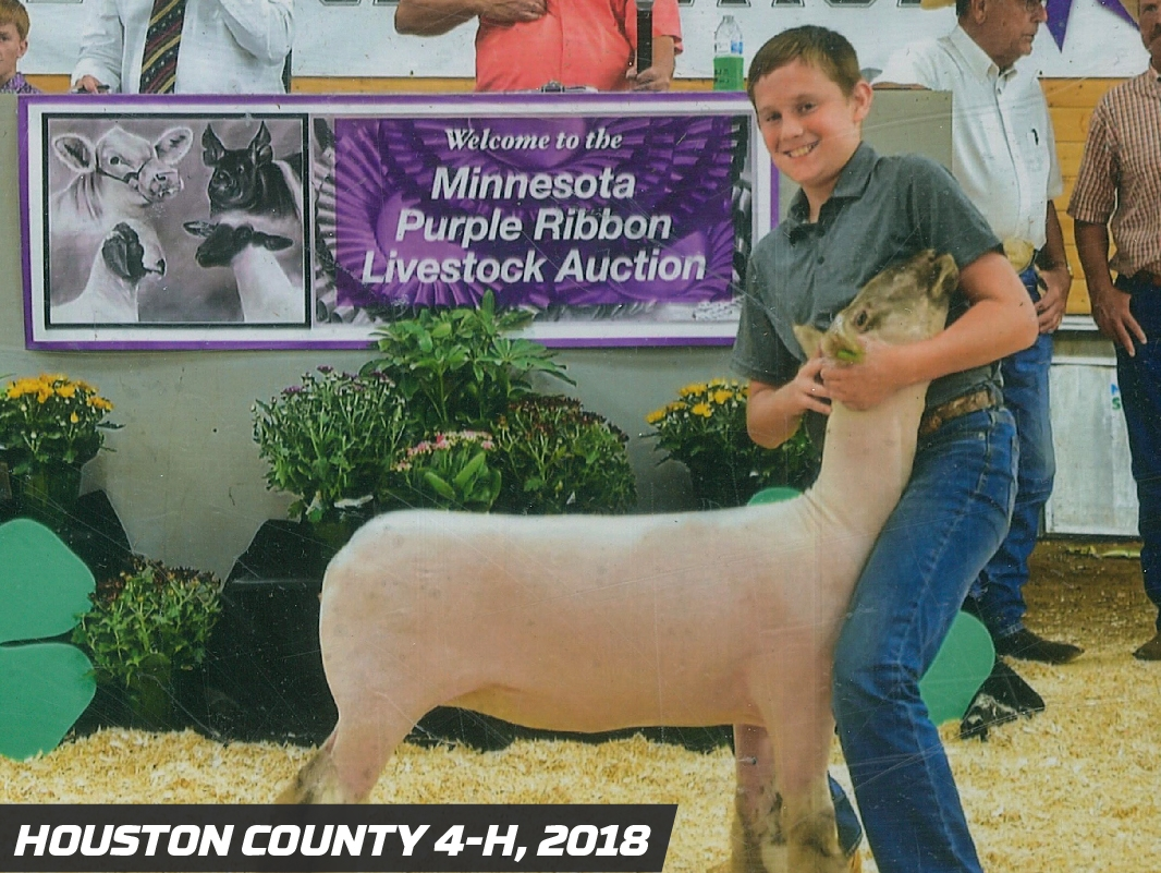 Precision Pipeline Community Involvement: Houston County 4-H