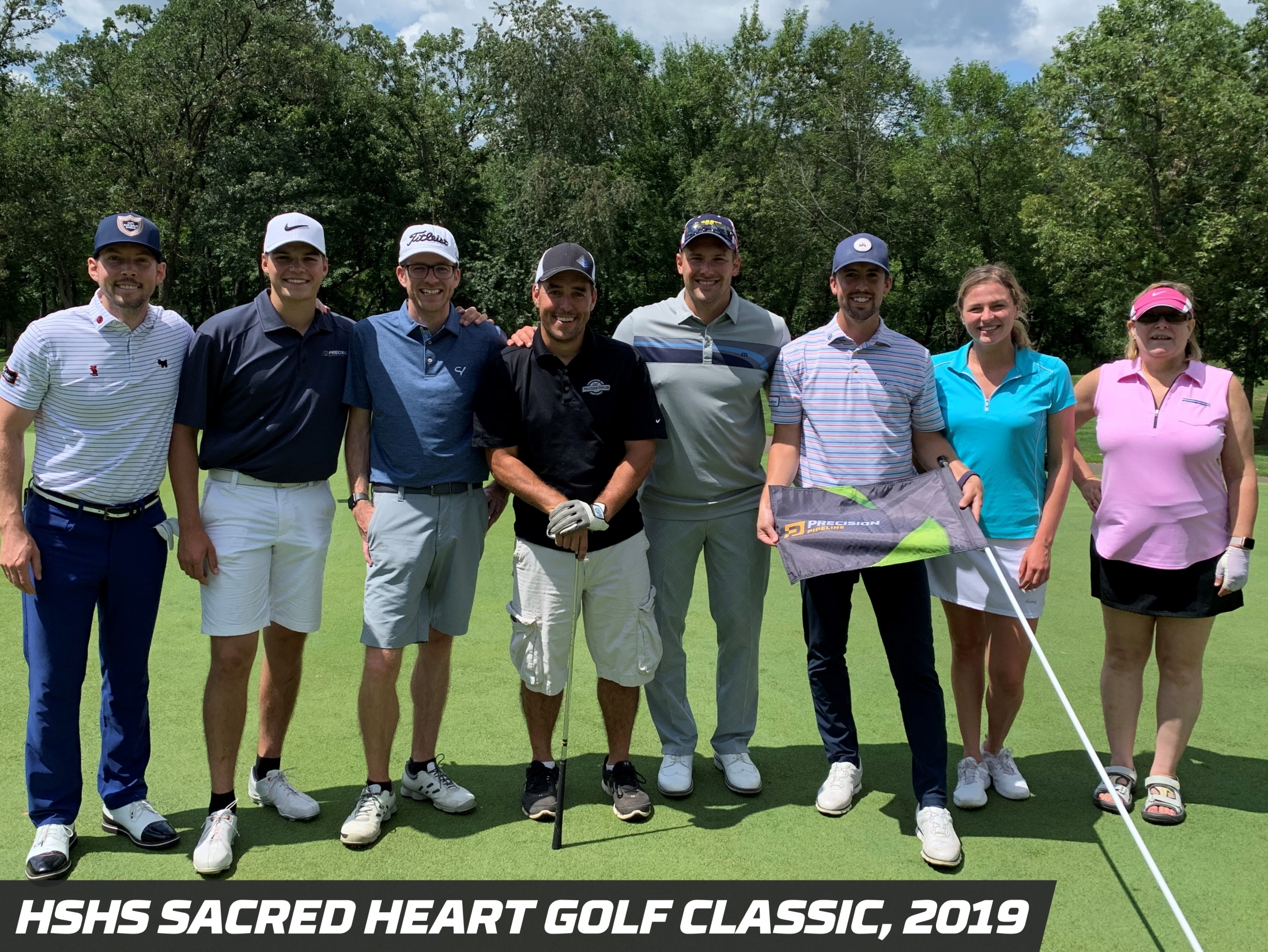 Precision Pipeline Community Involvement: HSHS Sacred Heart Golf Classic, 2019