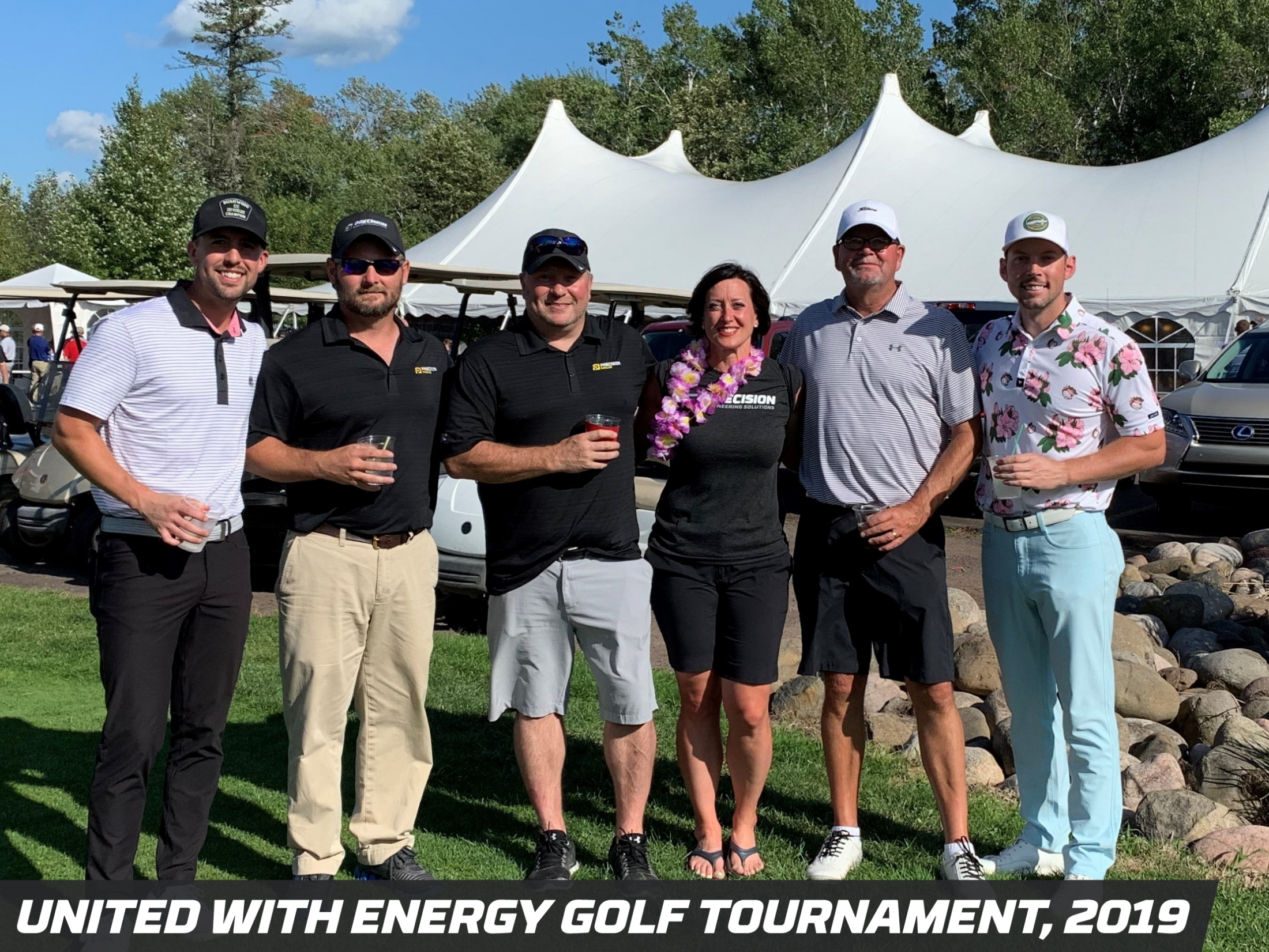 Precision Pipeline Community Involvement: United With Energy Golf Tournament 2019