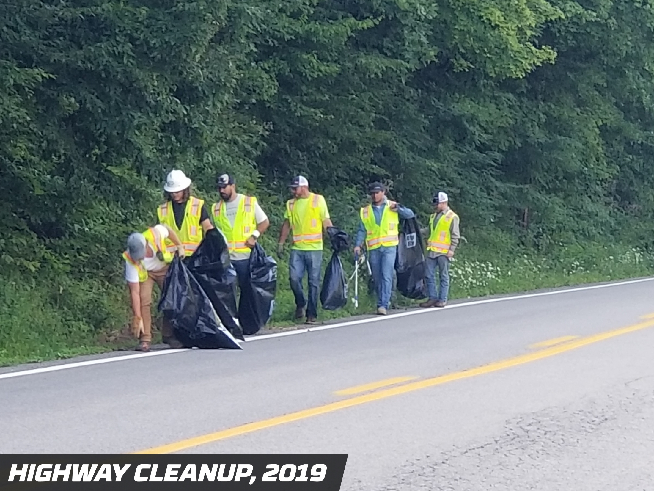 Precision Pipeline Community Involvement: Highway Cleanup, 2019