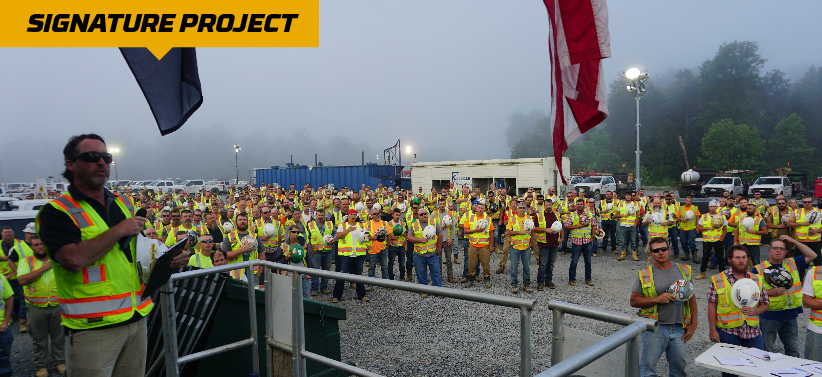 2012 Line Replacement Project Award